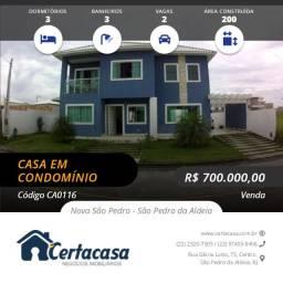 CA0116e - Linda casa duplex no Blue Garden