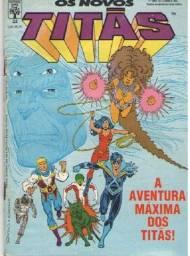 """Kit Quadrinhos """"Os Novos Titãs"""" (6 revistas DC)"""