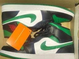 Air jordan 1 MID pine green (original) a com caixa