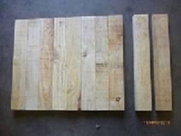 100 Peças madeira de Pinus por R$ 25,00