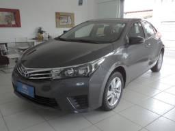 Toyota Corolla GLI 1.8 Flex Automático Cinza 2015 Único dono