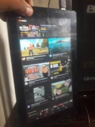 Vendo ou troco Tablet de 10 polegadas quad core com 16 GB memoria . fusion 5 16 gb