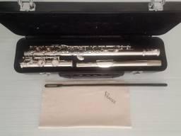 Flauta Eagle Transversal Em Do Fl 03n Niquelada