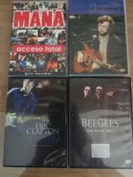 4 DVD's Títulos Diversos