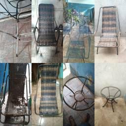 Reforma de cadeiras e mesas