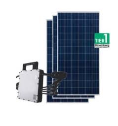 Kit geração fotovoltaica ( energia solar)1,54  kwp produz de 180 kw a 220 kw por mês
