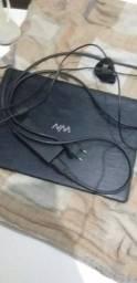 Notebook pra sair logo