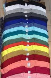 pack 5 camisetas la 30.1 pentedatodas as cores, masculino P ao XG, feminino P ao GG