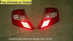 Lanterna Traseira do Honda Civic 2007 2011 2012 2014 2015 2016  G10 LD LE