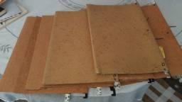 Pastas de arquivo usadas