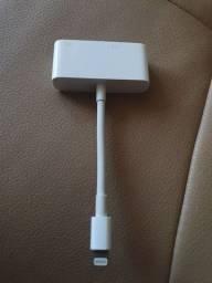 Adaptador Apple para VGA Original Novo.