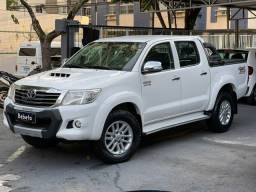 Título do anúncio: Hilux SRV 3.0 TD Diesel 4x4 Automático, Multimídia, Couro, nova demais, confira!