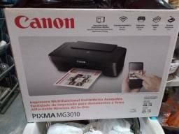 Título do anúncio: Vendo Impressora Canon Seminova