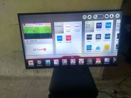 Título do anúncio: Tv smart LG 49 polegadas 3D Wi-Fi