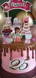Topper de bolo Personalizado