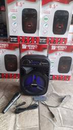 Título do anúncio: caixa de Somo Karaokê Wireless Bluetooth 1000w p.m.p.oauto falante 6.5''