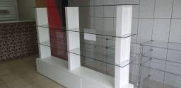 Título do anúncio: Prateleira de vidro com 3 gavetas