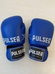Luva boxe NOVA ? Pulser 12 COURO LEGÍTIMO