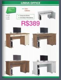 Título do anúncio: Mesa computador com gavetas