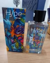 Perfume Masculino e Feminino Hyper for Him e Her Art Street 100ml  Lançamento Hinode