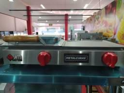 Grill + uma prensa a gás - Carol JM EQUIPAMENTOS