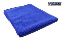 Título do anúncio: Pano Flanela De Microfibra 40x35cm Azul 220gsm Vonixx Simpl