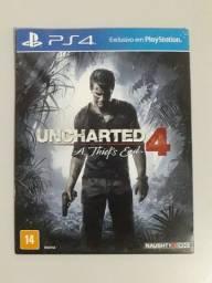 Título do anúncio: Uncharted 4 | PS4