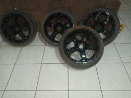 Rodas aro 17 com pneus