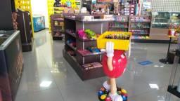 Mobília completa para loja de conveniência, lanchonete, restaurante etc