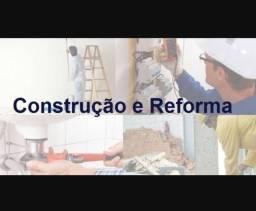 Reforma e construção com preço justo.