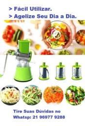 Preparador de Legumes e Verduras ((Tabletop Drum Grater)) - Frete Grátis!