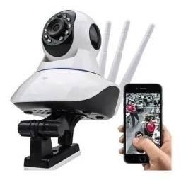 Título do anúncio: Camera Ip Wifi 3 Antenas Hd 720p App Yoosee/yyp2p Noturna