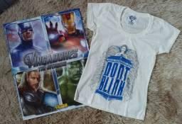 Camiseta Doctor Who (+ brinde)