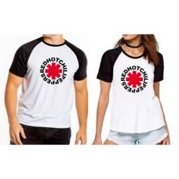 Camiseta Red Hot Chilli Pepper - Unissex