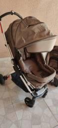 Carrinho e bebê conforto Kiddo