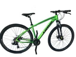 Título do anúncio: Bicicleta MTB 29 Alum Lotus Mecanico 21V 17.5 Kit Shimano