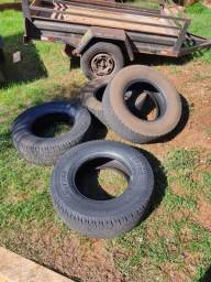 Vendo pneus 16 para camionete