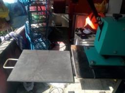 Prensa termica de sublimacao industrial