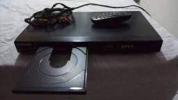 Título do anúncio: DVD Player Samsung com controle Remoto Bivolt.