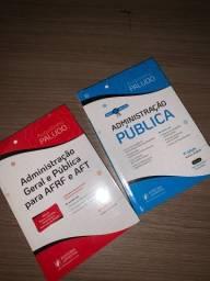 Livros para concurso de Administração