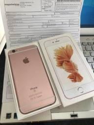 iPhone 6s 32G Rosê caixa nota fiscal Impecável estética de novo