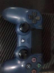 Controle PS4 azul