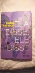 Título do anúncio: Livro Ela disse, Ele disse Thalita Rebouças