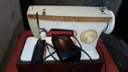 Maquina de costura singer zig zag com motor