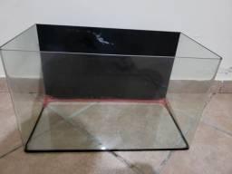 Título do anúncio: Aquário Vidro Curvo Crystal Clear Ocean Tech - 39 Litros