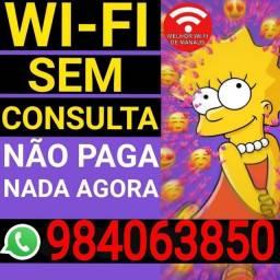 Wifi. Contrate já!