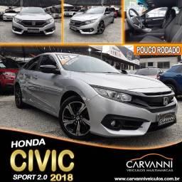 Título do anúncio: Honda Civic Sport 2018 Automático