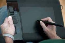 Mesa Digitalizadora Wacom Intuos 4 Média Ptk-640