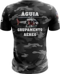 Camiseta Camisa Águia Pmsp-aga (uso Liberado)