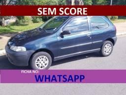 fiat palio 2004 azul financiamento com score baixo